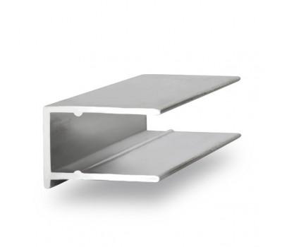 ПТО 8 мм, Алюминиевый торцевой профиль для поликарбоната