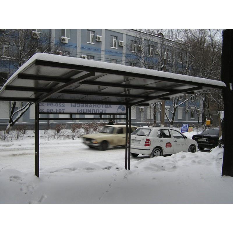 Автонавес из поликарбоната, 2008г.