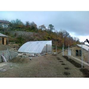 Теплицы из поликарбоната, Партенит, 2012г.