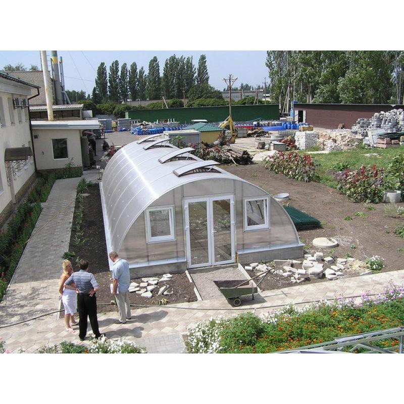 Теплицы из поликарбоната,Донецк, 2009г.