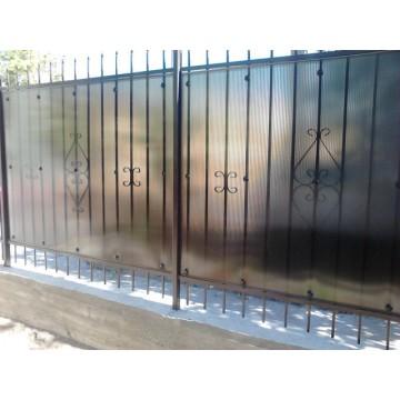 Ворота, решётки, ограждения, кованные изделия