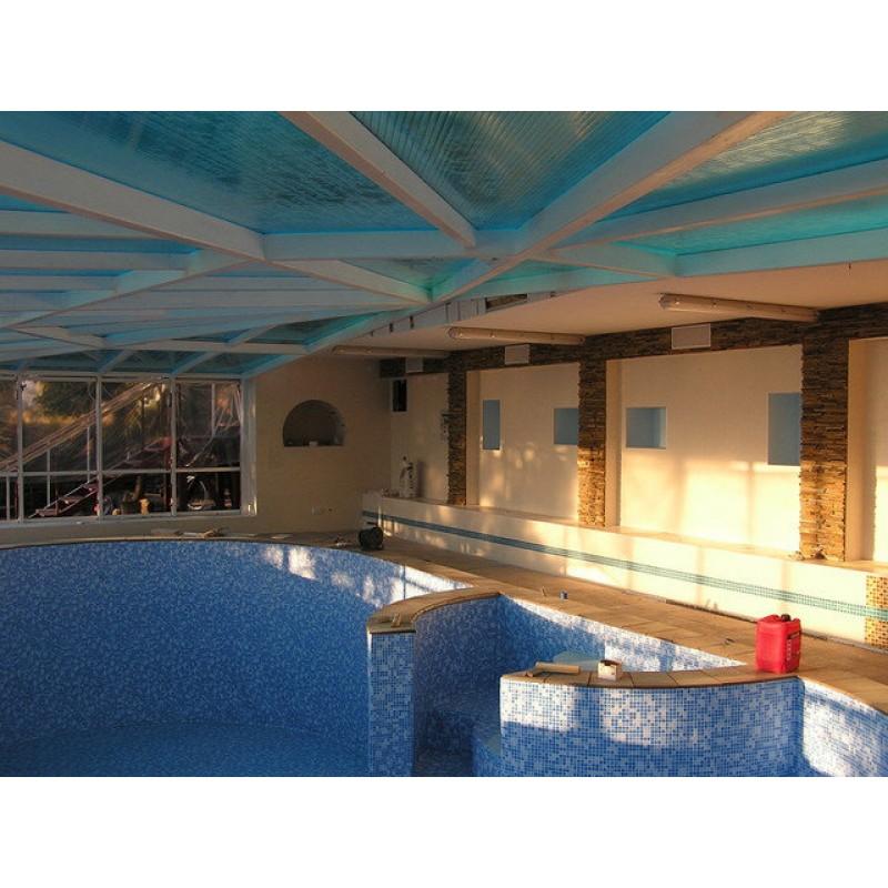 Павильон для бассейна, г. Форос, 2007 г., ТМ Stronex