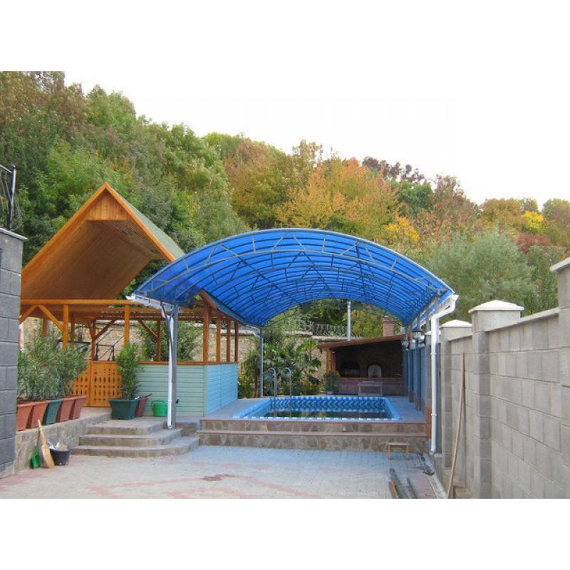 Навес над бассейном, 2007г.