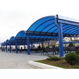 Перекрытие зоны ожидания и перрона вокзала в Джанкое, 2007 г.