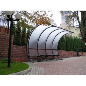 Остановка из поликарбоната, Киев,2008г