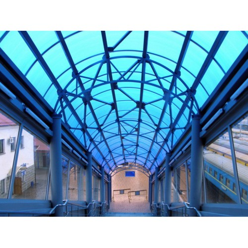 Перекрытие конкорсов на Ж/Д вокзале в Симферополе, 2012г.