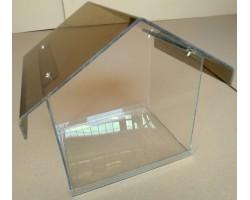 Прозрачные элементы дизайна и арт объектов