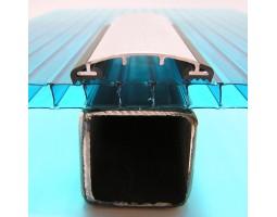 АД 40-7 Соединительный алюминиевый профиль для поликарбоната