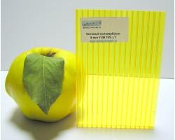 Сотовый поликарбонат POLYGAL 8 мм цветной