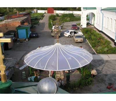 Крыша из поликарбоната