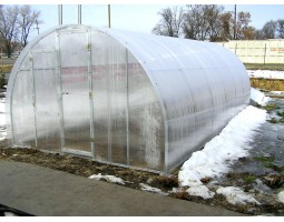 Сотовый поликарбонат КАРБОГЛАСС 4 мм прозрачный