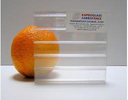 8 мм прозрачный, КАРБОГЛАСС, Сотовый поликарбонат