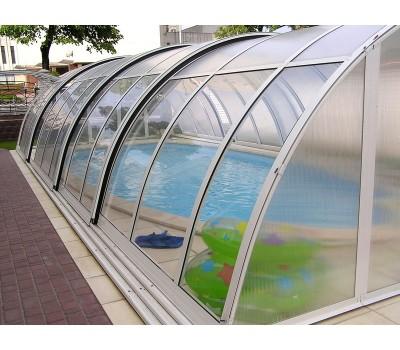 Монолитный поликарбонат Карбогласс 10 мм прозрачный