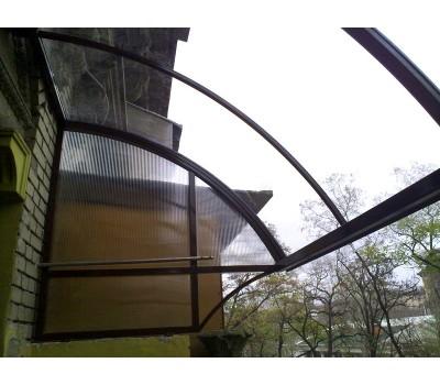 Монолитный поликарбонат Карбогласс 8 мм прозрачный