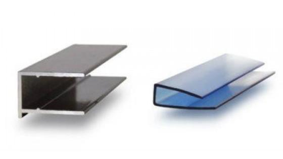 Характеристика профилей: алюминиевые или поликарбонатные?